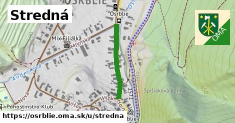 ilustrácia k Stredná, Osrblie - 236m