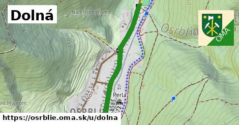 ilustrácia k Dolná, Osrblie - 0,80km