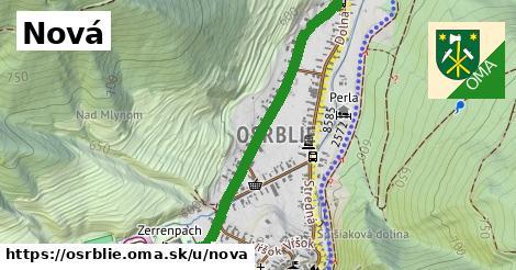 ilustrácia k Nová, Osrblie - 0,97km