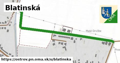 ilustračný obrázok k Blatinská, Ostrov, okres PN