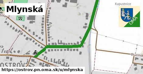 ilustrácia k Mlynská, Ostrov, okres PN - 527m