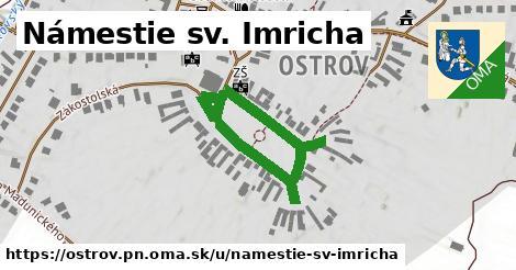 ilustračný obrázok k Námestie sv. Imricha, Ostrov, okres PN