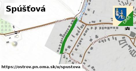 ilustračný obrázok k Spúšťová, Ostrov, okres PN