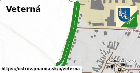 ilustračný obrázok k Veterná, Ostrov, okres PN