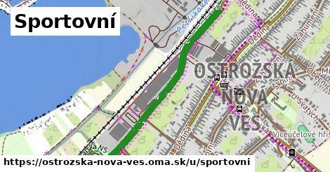 ilustrácia k Sportovní, Ostrožská Nová Ves - 0,84km
