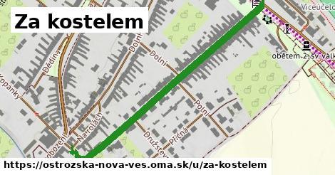 ilustrácia k Za kostelem, Ostrožská Nová Ves - 561m