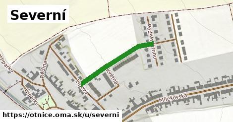 ilustrácia k Severní, Otnice - 265m