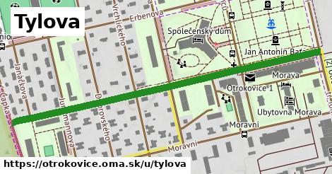 ilustrácia k Tylova, Otrokovice - 0,70km