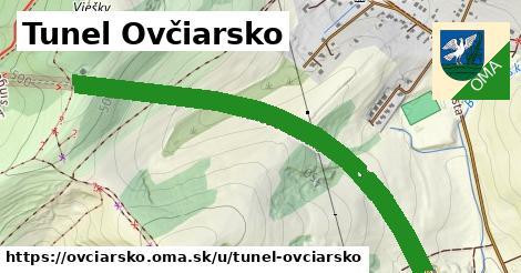 ilustrácia k Tunel Ovčiarsko, Ovčiarsko - 2,4km