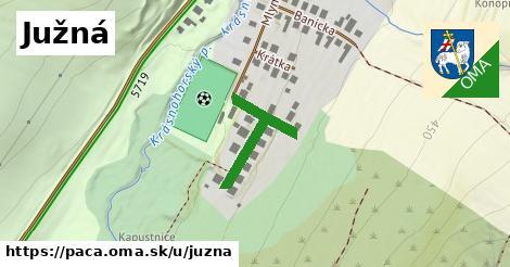 ilustrácia k Južná, Pača - 229m