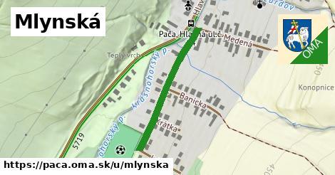 ilustrácia k Mlynská, Pača - 301m