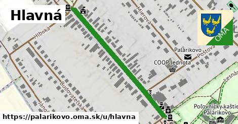 ilustrácia k Hlavná, Palárikovo - 456m