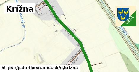 ilustrácia k Kriźna ulica, Palárikovo - 444m