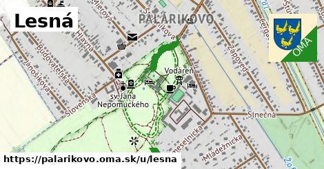 ilustrácia k Lesná, Palárikovo - 434m