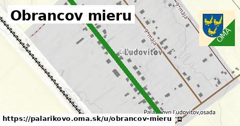 ilustrácia k Obrancov mieru, Palárikovo - 509m