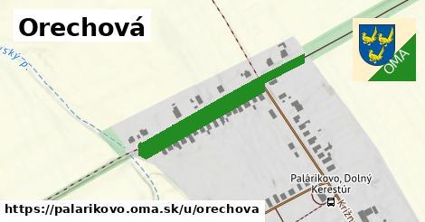 ilustrácia k Orechová ulica, Palárikovo - 575m