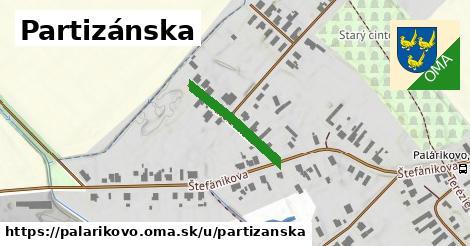 ilustrácia k Partizánska, Palárikovo - 191m