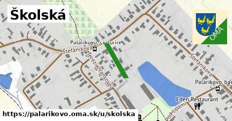 ilustrácia k Školská, Palárikovo - 128m