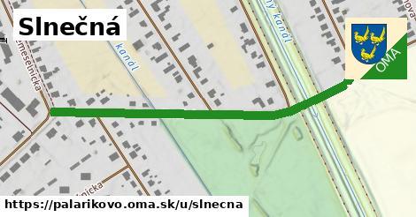 ilustrácia k Slnečná, Palárikovo - 585m