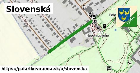 ilustrácia k Slovenská, Palárikovo - 335m