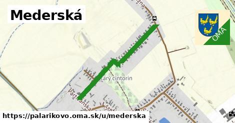 ilustrácia k Mederská, Palárikovo - 0,71km