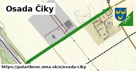 ilustrácia k Osada Čiky, Palárikovo - 1,11km