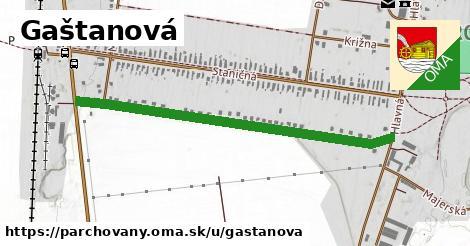 ilustrácia k Gaštanová, Parchovany - 1,02km