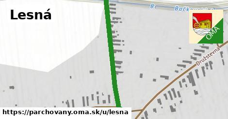 ilustrácia k Lesná, Parchovany - 466m