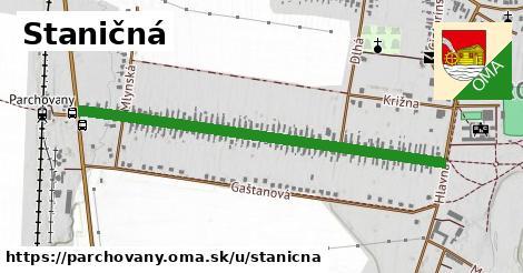 ilustrácia k Staničná, Parchovany - 1,05km