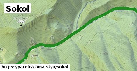 ilustrácia k Sokol, Párnica - 1,74km