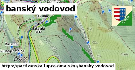 ilustrácia k banský vodovod, Partizánska Ľupča - 600m