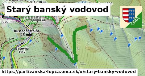 ilustrácia k Starý banský vodovod, Partizánska Ľupča - 372m