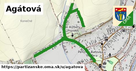 ilustrácia k Agátová, Partizánske - 1,56km