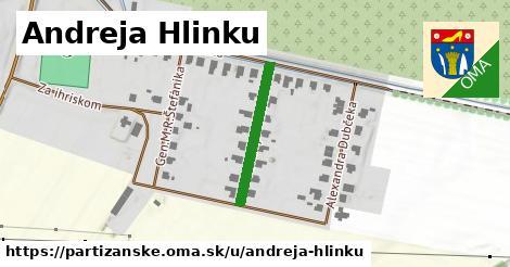 ilustrácia k Andreja Hlinku, Partizánske - 212m