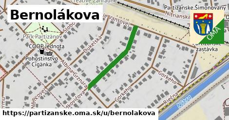 ilustračný obrázok k Bernolákova, Partizánske