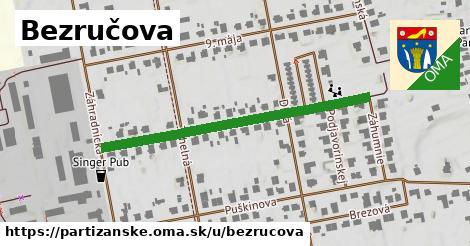 ilustračný obrázok k Bezručova, Partizánske