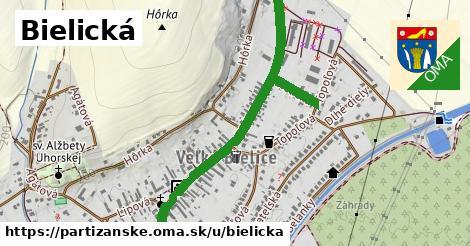 ilustračný obrázok k Bielická, Partizánske