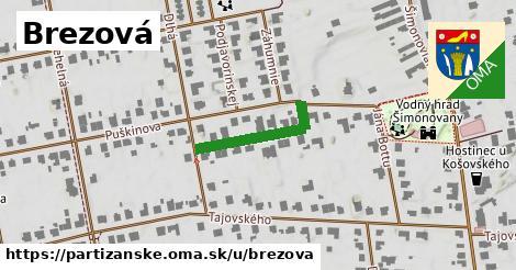 ilustrácia k Brezová, Partizánske - 201m