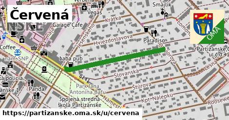 ilustrácia k Červená, Partizánske - 340m