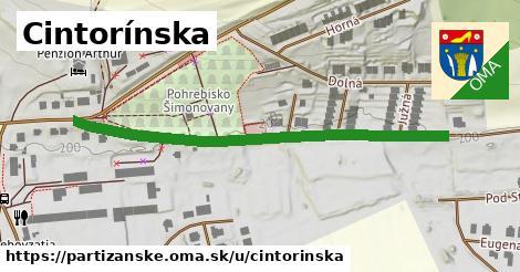 ilustrácia k Cintorínska, Partizánske - 539m
