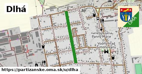 ilustrácia k Dlhá, Partizánske - 550m