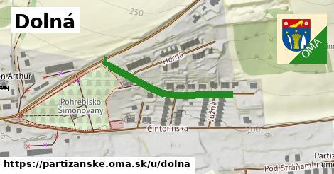 ilustrácia k Dolná, Partizánske - 307m