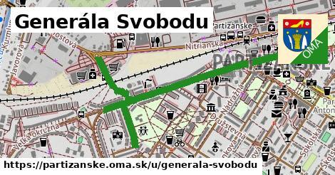 ilustrácia k Generála Svobodu, Partizánske - 0,93km