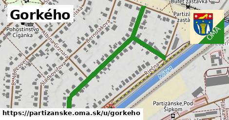 ilustrácia k Gorkého, Partizánske - 595m