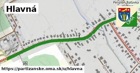 ilustračný obrázok k Hlavná, Partizánske
