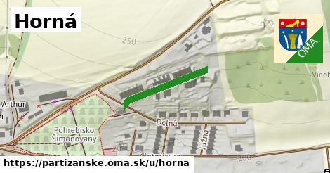 ilustrácia k Horná, Partizánske - 205m