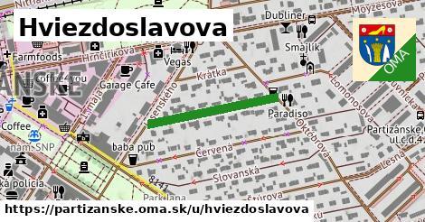 ilustrácia k Hviezdoslavova, Partizánske - 235m