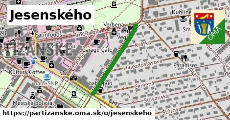 ilustrácia k Jesenského, Partizánske - 278m