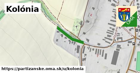 ilustrácia k Kolónia, Partizánske - 164m