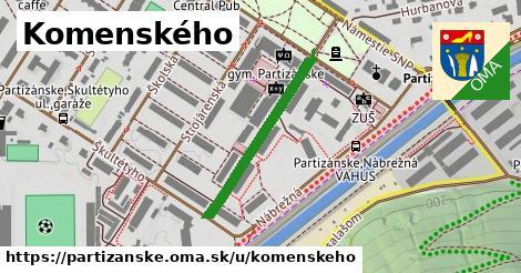 ilustračný obrázok k Komenského, Partizánske